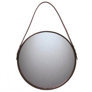 Ørskov spiegel bruin Ø 40 cm.