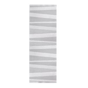 Åre vloerkleed grijs-wit 70 x 300 cm.