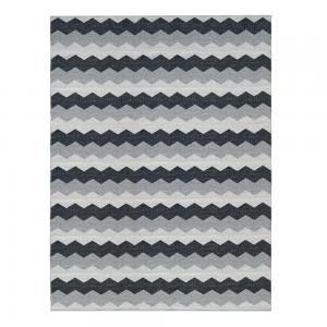 Luppio vloerkleed haze (grijs-zwart) - groot 150 x 200 cm.