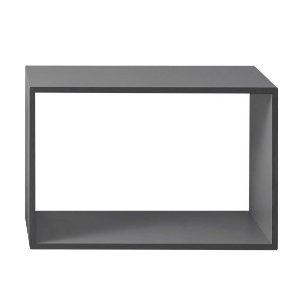 Stacked 2.0 kast open - groot grijs