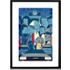 Back To The Future door Ale Giorgini, 30 x 42cm (A3) ingelijste print
