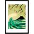 Falling in Love door Yetiland, 42 x 59cm (A2) ingelijste print