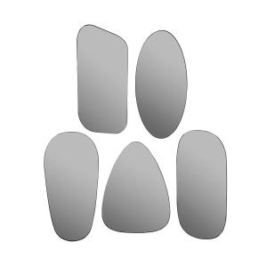 Art spiegel grijs 5 pack grijs