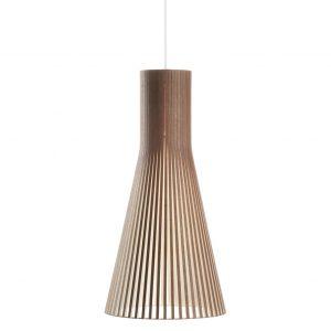 Secto 4200 hanglamp walnut veneer