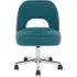 Lloyd bureaustoel, mineraalblauw en mergelgrijs