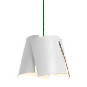 Leaf wit lamp wit/groen