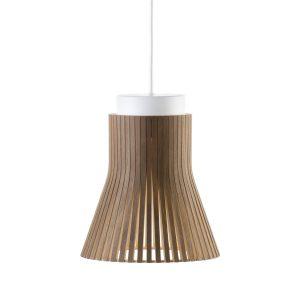 Petite 4600 hanglamp walnut veneer