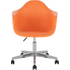 Davos bureaustoel, oranje