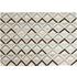 Akia handgeweven vloerkleed 160 x 230cm, turkoois en grijs