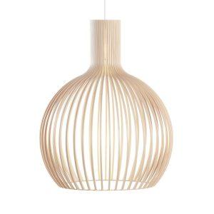Octo 4240 hanglamp natural birch