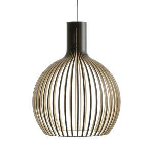 Octo 4240 hanglamp black laminated