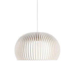 Atto 5000 hanglamp white laminated