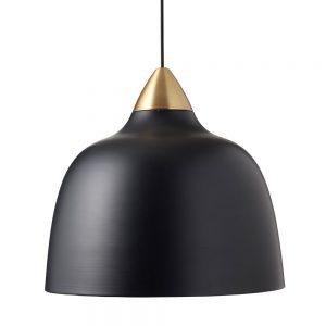 Urban mega hanglamp matt real black