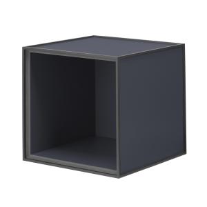 Frame 28 kubus zonder deur donkerblauw