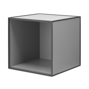 Frame 35 kubus zonder deur donkergrijs