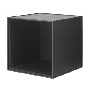 Frame 35 kubus zonder deur zwart gebeitst essen
