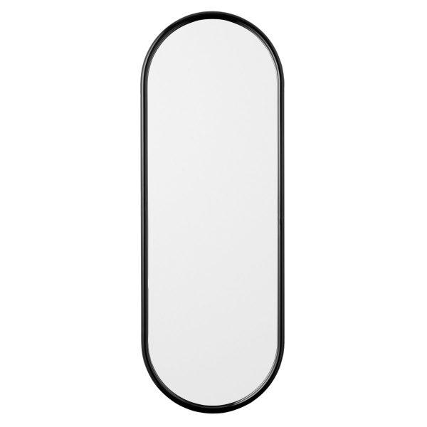 Angui spiegel ovaal 108 cm. antraciet