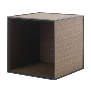 Frame 35 kubus zonder deur gerookt eiken