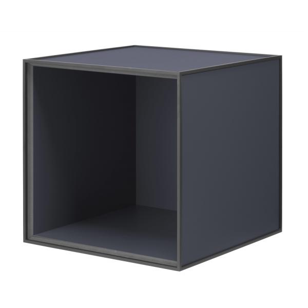 Frame 35 kubus zonder deur donkerblauw