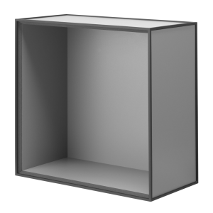 Frame 42 kubus zonder deur donkergrijs