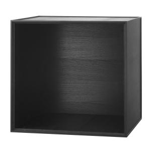 Frame 49 kubus zonder deur zwart gebeitst essen