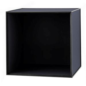 Frame 49 kubus zonder deur donkerblauw