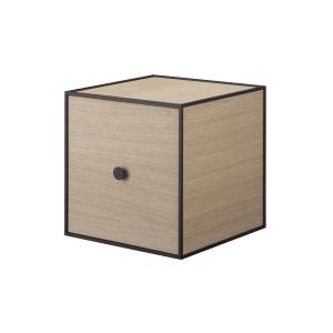 Frame 28 kubus met deur eiken