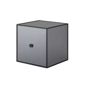 Frame 28 kubus met deur donkergrijs