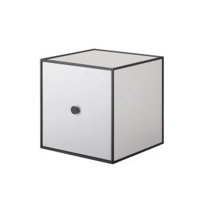 Frame 28 kubus met deur lichtgrijs