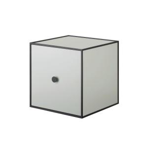 Frame 28 kubus met deur lichtgroen