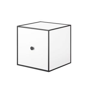 Frame 28 kubus met deur wit
