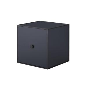 Frame 28 kubus met deur donkerblauw
