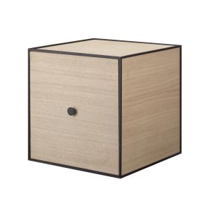 Frame 35 kubus met deur eiken