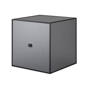 Frame 35 kubus met deur donkergrijs