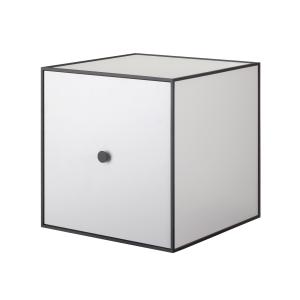 Frame 35 kubus met deur lichtgrijs