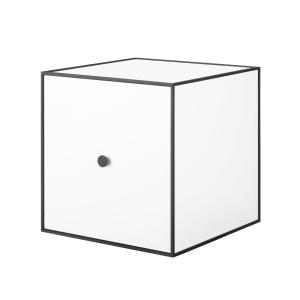 Frame 35 kubus met deur wit