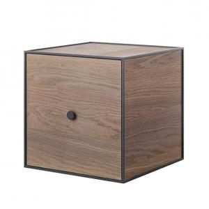 Frame 35 kubus met deur gerookt eiken