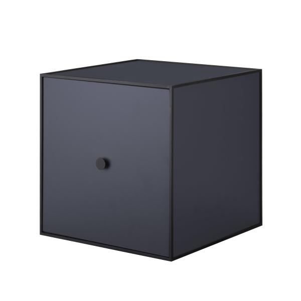 Frame 35 kubus met deur donkerblauw