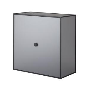 Frame 42 kubus met deur donkergrijs