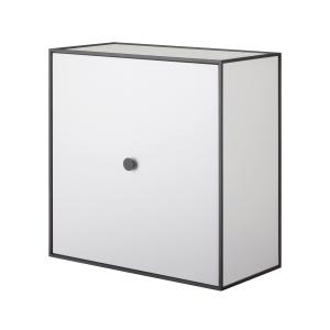 Frame 42 kubus met deur lichtgrijs