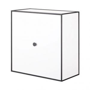 Frame 42 kubus met deur wit