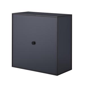Frame 42 kubus met deur donkerblauw