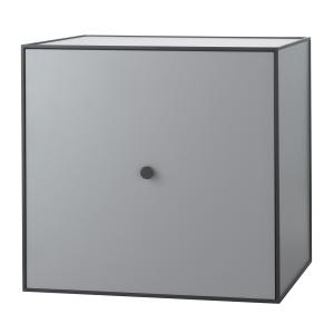 Frame 49 kubus met deur donkergrijs