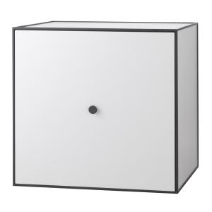 Frame 49 kubus met deur lichtgrijs