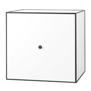 Frame 49 kubus met deur wit