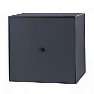 Frame 49 kubus met deur donkerblauw