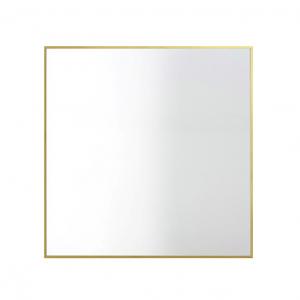 View spiegel 56 x 56 cm. messing