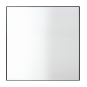 View spiegel 70 x 70 cm. zwart