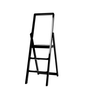 Step ladder zwart