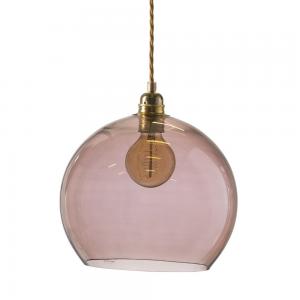 Rowan hanglamp groot, Ø 28 cm. obsidiaan